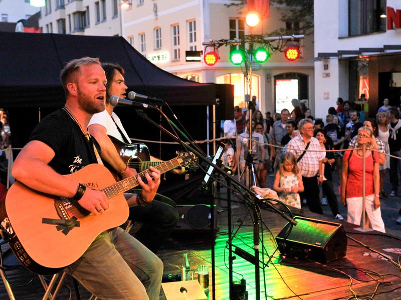 Bürgerfest 2017 Bühnenprogramm in der Ludwigstraße © Ulrich